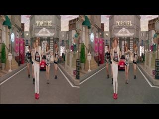Клип в формате 3D (Горизонтальная стереопара)